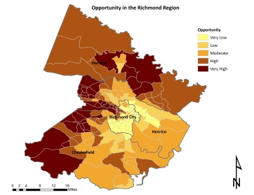 Distribution of Opportunity in the Richmond area